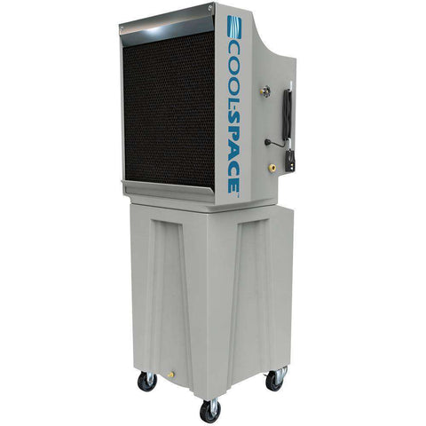 Cool-Space CS5-18-VD-TB2 GLACIER18 Series 2825 CFM 1200 sq ft 12 Speed 18 Inch Portable Evaporative Cooler New