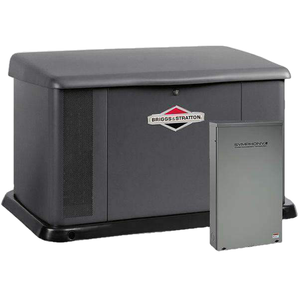 Briggs & Stratton 17kw Standby Generator w/ 100 Amp 16C Automatic Transfer Switch New
