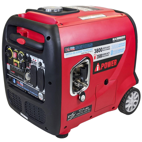 A-iPower SUA3800IED 3500W/3800W Dual Fuel Remote Start Inverter Generator New