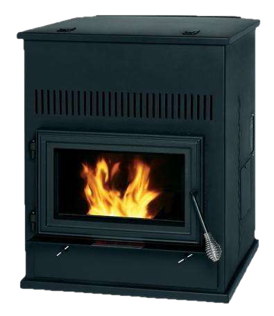 England's Stove Works Summers Heat 55-SHPAH 2000 sq. ft. Pellet Auxilary Stove New