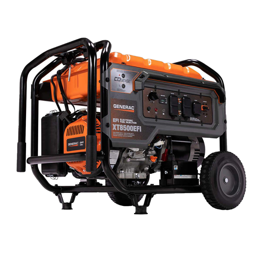 Generac XT8500EFI 8500W/10000W Electronic Fuel Injection Generator Electric Start Manufacturer RFB
