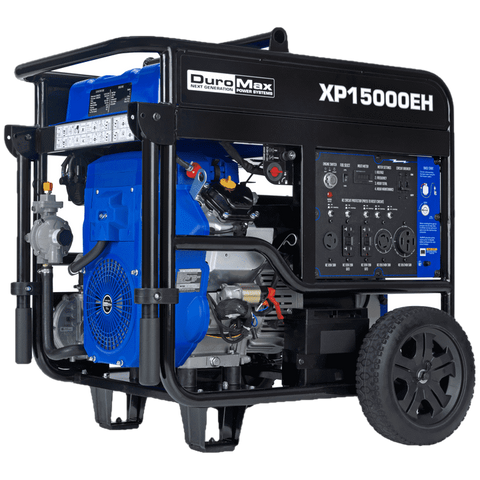 DuroMax XP15000EH 12000W/15000W Dual Fuel Electric Start Generator New