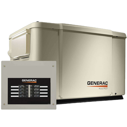 Generac 6998 Guardian 7.5kW NG/LP Standby Generator with Smart Transfer Switch New