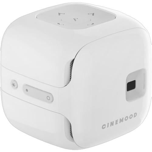 Cinemood Storyteller Portable Media Player CNMD0016WT Pico Projector White New