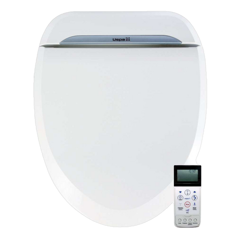 Bio Bidet USPA6800 Smart Toilet Seat with Bidet Round Open Box (Current Special: Free upgrade to brand new unit)