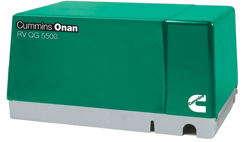 Cummins Onan QG 5500 5.5HGJAB-7103 5500W 120/240V Gas RV Generator New