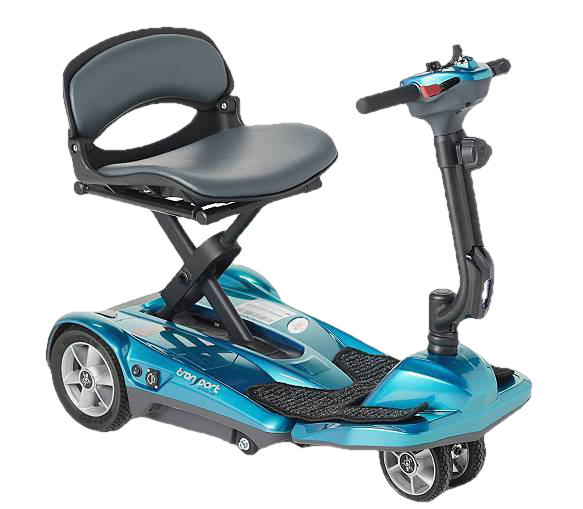 EV Rider Transport M Easy Move Scooter Lithium Folding Scooter Blue Open Box