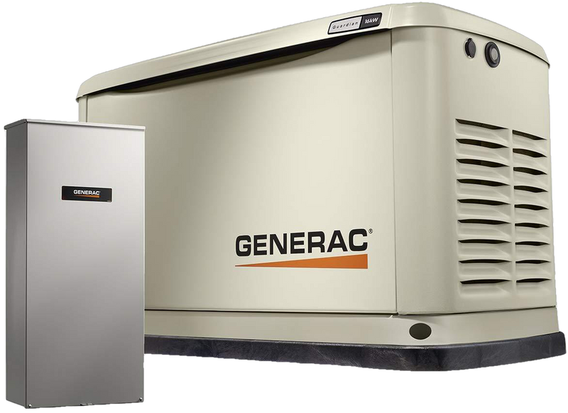 Generac/Honeywell 6462 16kW Guardian LP/NG Standby Generator with Smart Transfer Switch New