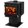 England's Stove Works Summers Heat 50-SHSSW01 Smartstove 2,200 sq. ft. Wood Stove New