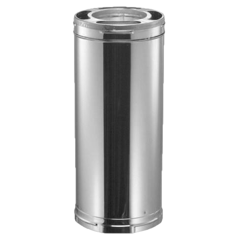 Duravent SD9017SS 6 In. x 36 in. Triple-Wall Stainless Steel Chimney Pipe New