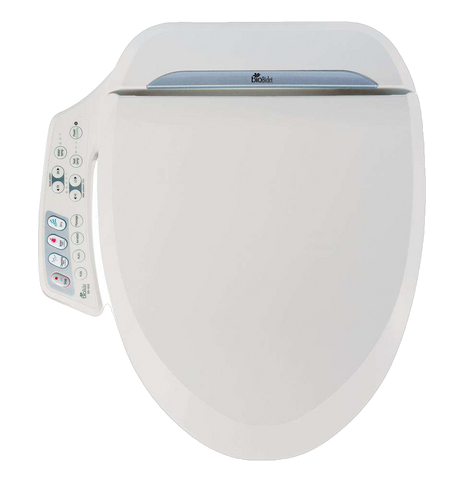 Bio Bidet BB-600-E Ultimate Advanced Toilet Seat Elongated Open Box (Current Special: Free upgrade to brand new unit)