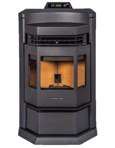 ComfortBilt HP22-N 3,000 sq. ft. EPA Certified Pellet Stove with Auto Ignition 80 lb Hopper Capacity New