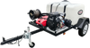 Simpson 95004 4200 PSI 4 GPM Vanguard CAT Electric Start Pressure Washer Trailer New