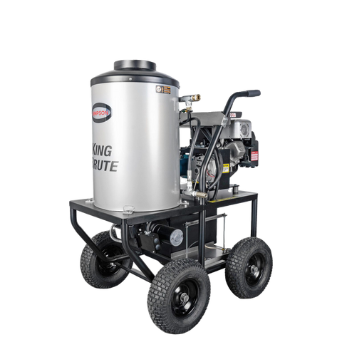 Simpson KB3028 Brute Series 3000 PSI 2.8 GPM Briggs & Stratton Intek 1100 CAT Pump Hot Water Pressure Washer New