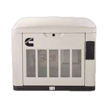Cummins A061C596 RS17A 17kw Quiet Connect™ Series Home Standby Generator LP/NG Open box