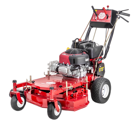 "WorldLawn WY32X11BSE 32"" Briggs and Stratton Electric Start with Recoil Backup Gas Self Propelled Walk Behind Mower New"