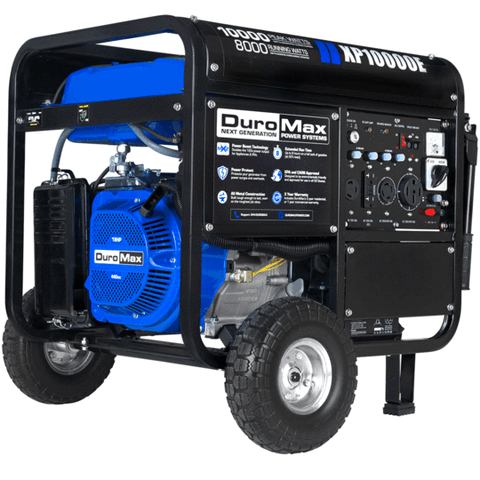 DuroMax XP10000E 8000W/10000W Gas Electric Start Generator New