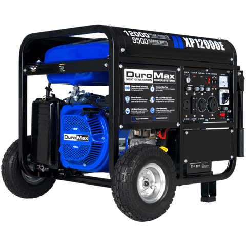 DuroMax XP12000E 9500W/12000W Gas Electric Start Generator New