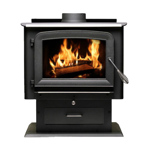 Ashley Hearth AW2520E-P EPA Certified 2,500 sq. ft. Wood Stove New