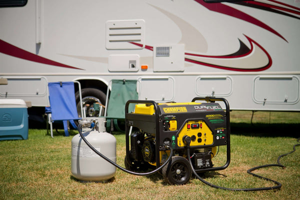 Champion 100122 3500W/4000W Generator Dual Fuel Manufacturer RFB
