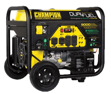 Champion 100155 7000W/9000W Dual Fuel Electric Start Generator Manufacturer RFB