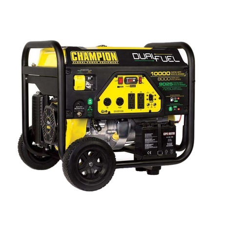 Champion 100297 8000W/10000W Electric Start Dual Fuel Generator Manufacturer RFB