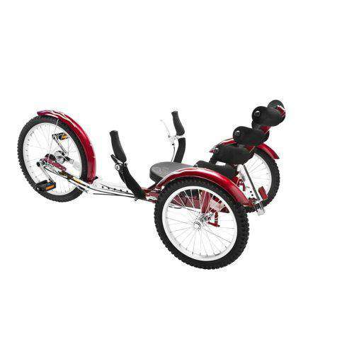 Mobo Cruiser TRI-301R Adults' Shift 20 in Three Wheel Cruiser Red New