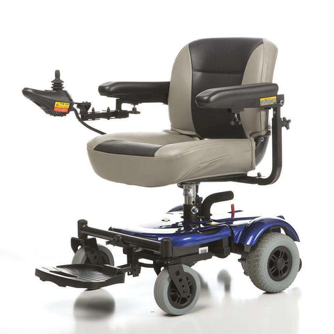 Merits EZ-GO Travel Power Chair Blue New