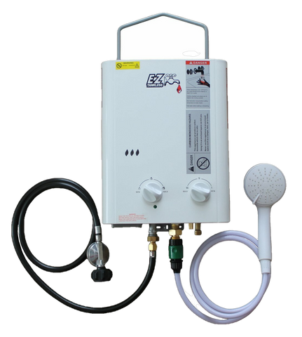 EZ Tankless CampChamp 1.8 GPM LP Propane Outdoor Tankless Water Heater New