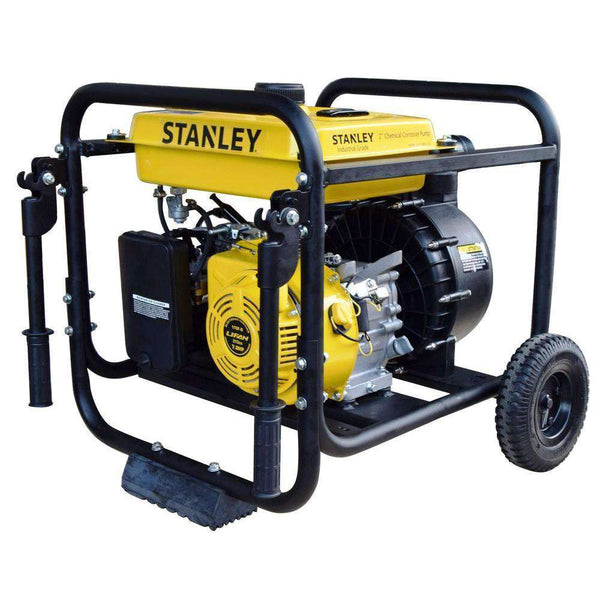 Stanley ST2CCWPLT 7 HP 2 in. Suction and Discharge Ports  Chemical/Corrosive Non-Submersible Displacement Water Pump New