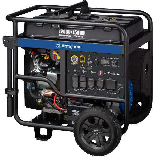 Westinghouse WGen12000 12000W/15000W Gas Remote Start Generator New