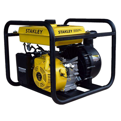 Stanley ST2CCWPLT-CA 7 HP 2 in. Suction and Discharge Ports Chemical/Corrosive Non-Submersible Displacement Water Pump New