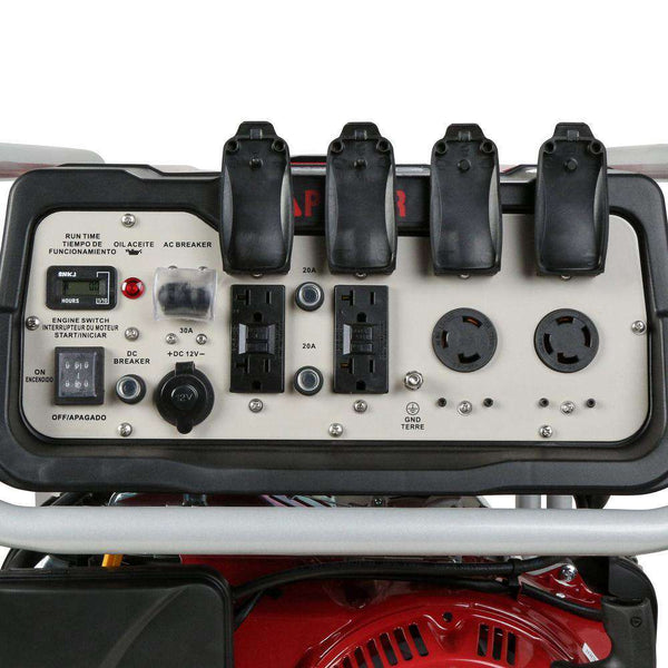 A-iPower SUA9000E 7250W/9000W Electric Start Gas Generator New