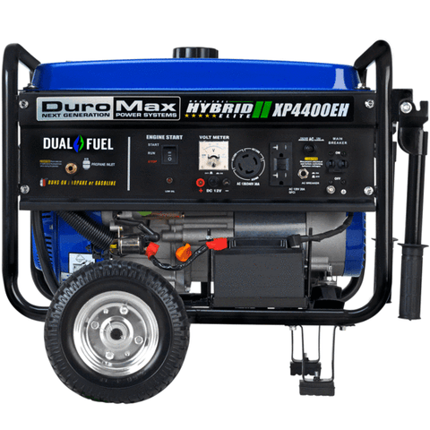 DuroMax XP4400EH 3500W/4400W Dual Fuel 7 HP Electric Start Generator New
