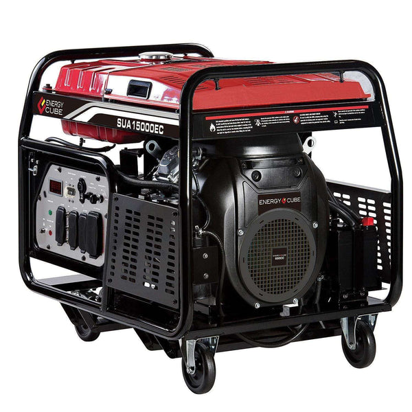 A-iPower SUA15000EC 12000W/15000W Electric Start Gas Generator New