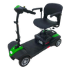 EV Rider Minirider Lite 4 Wheel Mobility Scooter Green Open Box