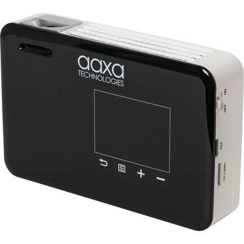 AAXA P300-Neo Android Smart HD Mini Portable Pocket DLP Pico Projector with Wi-Fi 420 Lumens New