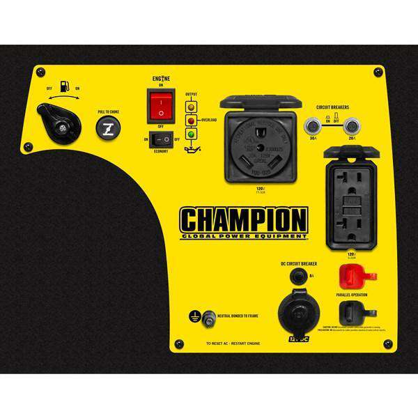 Champion 100158 2800W/3100W Portable Inverter Generator Manufacturer RFB