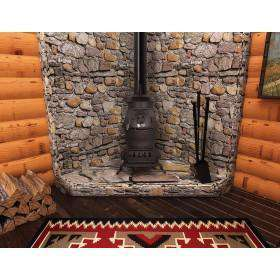 US Stove 1869 Cast Iron 1,500 sq. ft. Coal Stove 40 lb. New