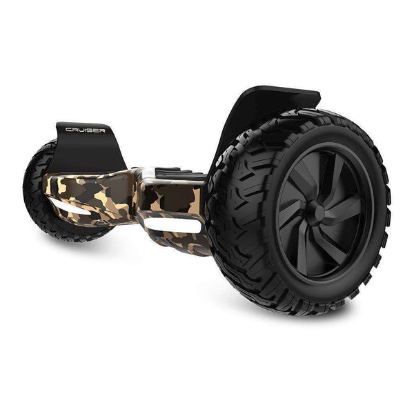 "City Cruiser Off Road Hoverboard Camouflage 8.5"" Bluetooth Self Balancing Scooter New"