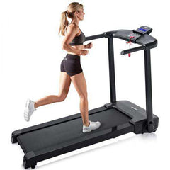 Merax JK103A Folding Electric Treadmill Motorized Power Running Machine Fitness New