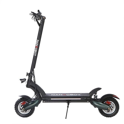 "NanRobot D6+ Foldable Lightweight 2000W 26ah 52V 10"" Electric Scooter with Seat New"
