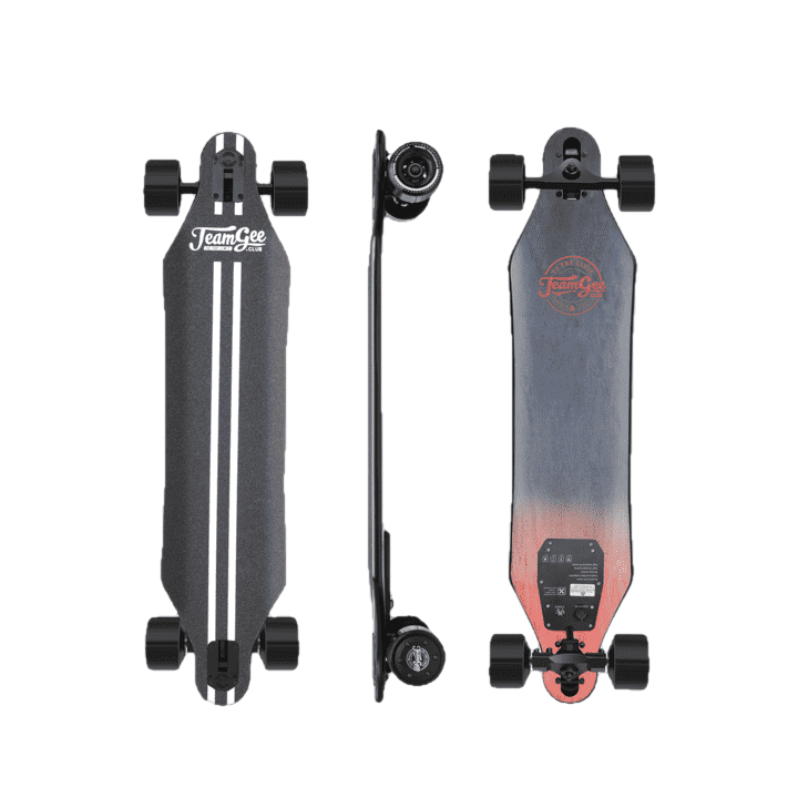 TeamGee H5 37 Inch Electric Skateboard 760W Dual Motors Maple Longboard New