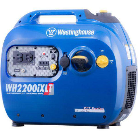 Westinghouse WH2200iXLT 1800W/2200W Gas Inverter Generator New