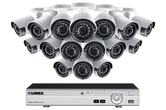 Lorex LX1080-166BW HD 1080p Indoor/Outdoor 16 Camera 16 Channel DVR Surveillance Security System New