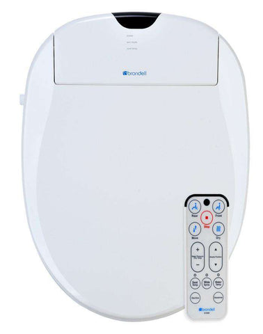 Brondell S1000-EW Swash 1000 Advanced Bidet Elongated Open Box (Unused)