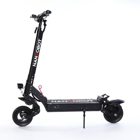 "Nanrobot X6 Foldable Lightweight 8"" Tires 500W 48V 15aH Electric Scooter Black New"