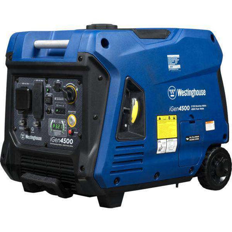 Westinghouse iGen4500 3700W/4500W Gas Inverter Remote Start Generator New