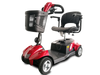 EV Rider CityCruzer 4 Wheel Electric Travel Scooter Red Open Box