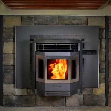 ComfortBilt HP22I-SS 2,800 sq. ft. Pellet Stove Fireplace Insert 47 lb Hopper Capacity New